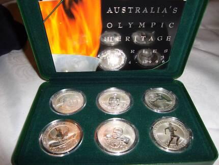 Australia's Olympic Heritage******1996 6-coin set