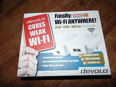 devolo dlan 1200+ wifi ac twin lan starter kit 9392