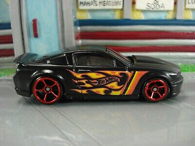Hot Wheels '07 Ford Mustang Loose HW Flames Multi Pack Indonesia Casting