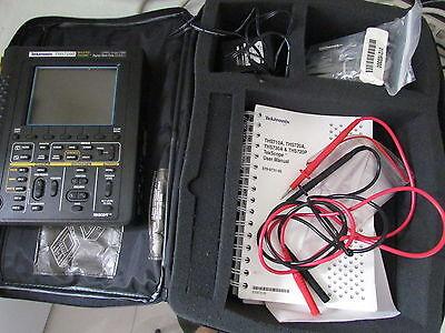 Tektronix Ths720p Digital Oscilloscope 100mhz Dmm