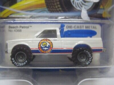 HOT WHEELS MINT ON CARD 1983 REAL RIDERS SERIES BEACH PATROL UNPUNCHED GRAY HUBS