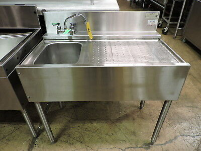 Krowne Kr-23-31l Commercial 1-compartment Bar Sink