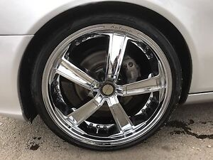 "Rims & tires 5x112 chrome 20""  / mercedes, audi, vw"
