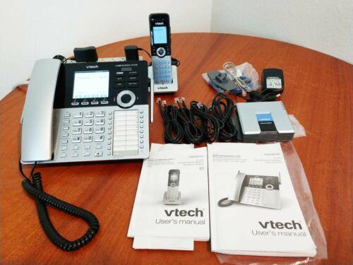 VTech CM18445 4-Line Business Desktop Phone 1-Cordless CM18045