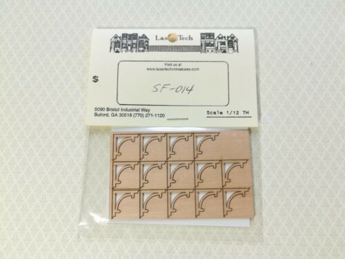 Dollhouse Miniature Stair Tread Trim Classic Style 1:12 Scale Decoration