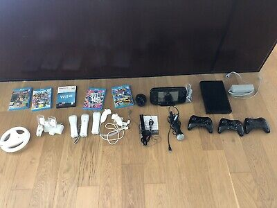 Wii U 32GB console Bundle + Controllers, Mario Cart 8, Super Smash Bros & More!