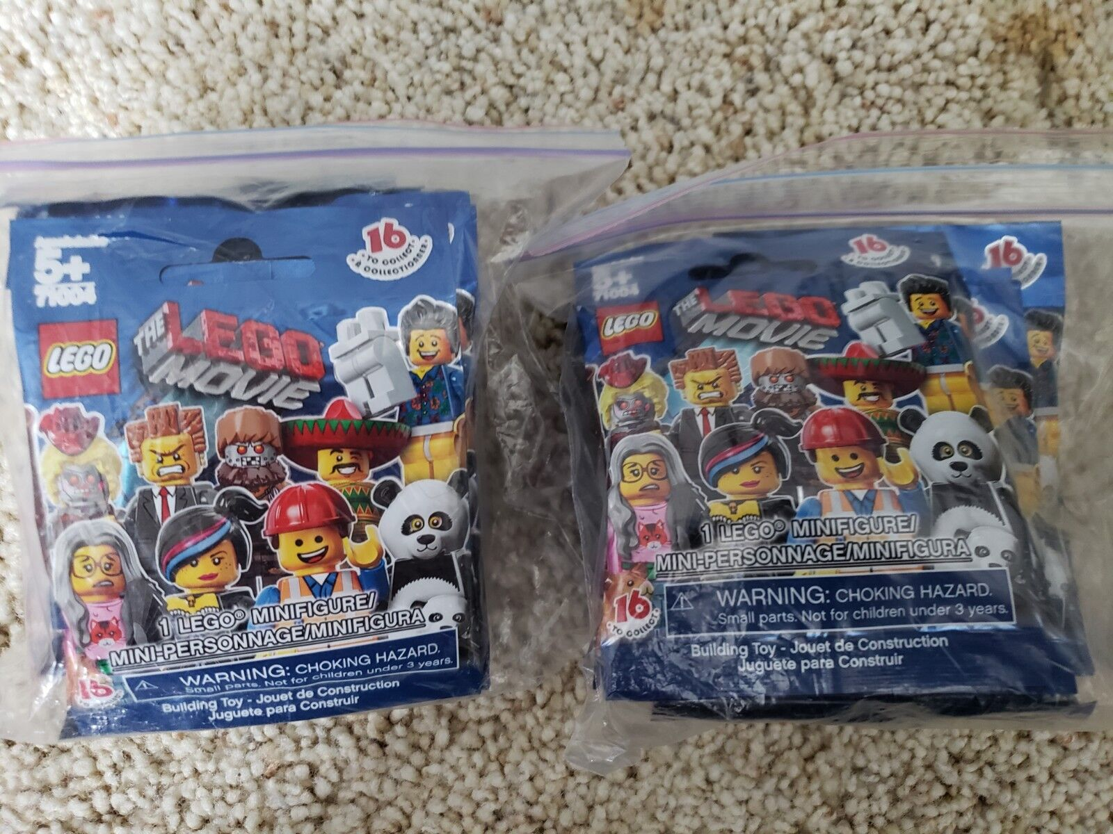 ThefirstLego Movie Minifigures Retired 71004 Set Factory Sealed Complete 16 4jLR5Aq3Sc