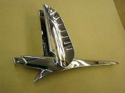 Rechrome OEM Ford 1956 Fairlane Accessory Hood Ornament Emblem Trim 1952 1953