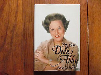 ABIGAIL VAN BUREN (Died-2013)Signed Book(THE BEST OF DEAR ABBY-'81 1st Edit