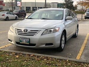 2007 toyota camry safetied