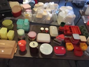 Lots of Tupperware brand