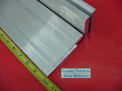4 Pieces 12 X 4 Aluminum 6061 Rectangle Bar 10 Long T651 Extruded Mill Stock