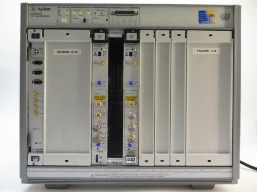 Agilent E8403A Mainframe VXI 13 Slot ParBERT 81250 W/ One E8491B, Two N4872A