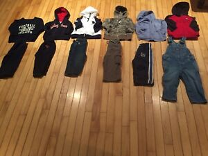 Boys 18 month lot (hoodies and pants)