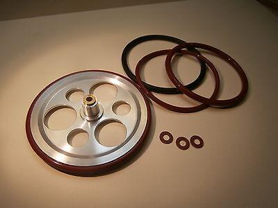 NEW IDLER WHEEL LENCO L 70 BOGEN B72-62 LENCO GOLDRING 88 LENCO 99 SHAFT 3mm