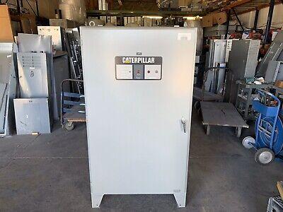 Caterpillar Auto Transfer Switch 600 Amp 480v 3 Phase Tcf3b6mex2x3xxxx0 Used
