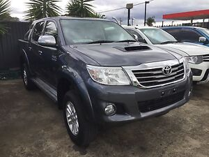 2014 Toyota Hilux SR5 DUAL CAB AUTO TURBO DIESEL 4X4 4WD UTE Lansvale Liverpool Area Preview