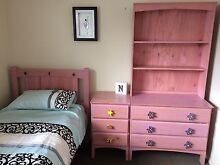 Girls Bed,Mattress, bedside table, chest of drawers & Hutch Bendigo 3550 Bendigo City Preview