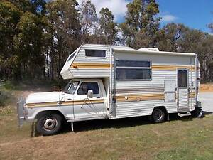 1979 Ford F350 Motorhome Camper Stoneville Mundaring Area Preview