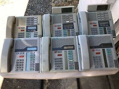 Nortel Norstar Flash Meridian 6 Phone System W11 Phones Ata Lots Of Buttons
