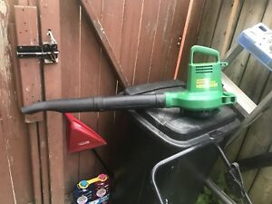 Electric corded blower