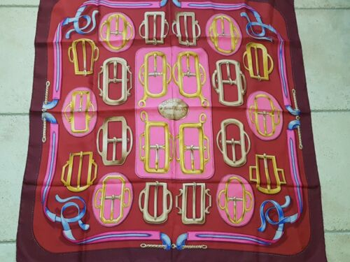 Foulard hermès bouclerie d attelage