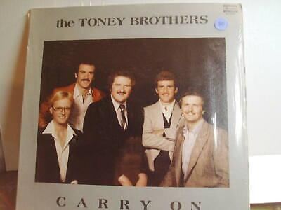 THE TONEY BROTHERS CARRY ON LP , SKYLITE SLP-6258, 1981 ,LP VINYL