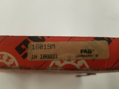 16019 - Fag Deep Groove Bearing - 95x145x16mm