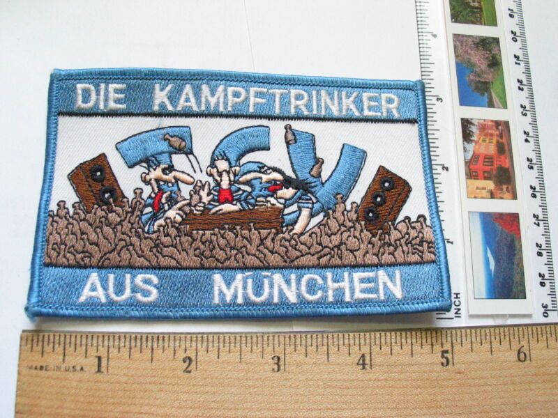 Beer Patch, Die Kampftrinker Aus Munchen Patch, Guys Drinkings Patch, (#1465)**)