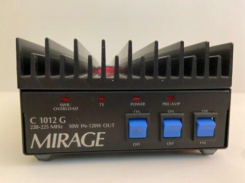 Mirage C-1012-G 222-225 MHz Amplifier 120W output