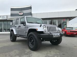 2017 Jeep WRANGLER UNLIMITED Sahara 4X4 LIFTED NEW ION BEADLOCK