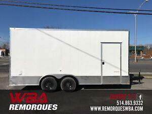 2019 Remorque Fermée 8.5x18 (8.5 x 18) Précision Cargo
