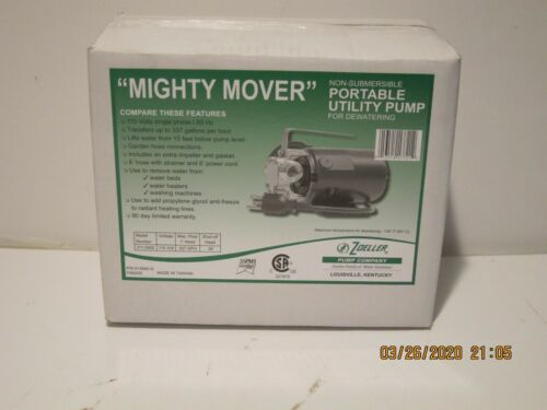 Zoeller Mighty Mover Non Submersible Portable Utility Pump 311-0002 F/SHIP NISB!