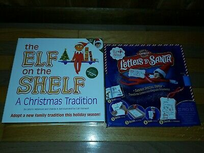 New Elf On The Shelf (Boy) (Book And Doll) and new letters to santa kit