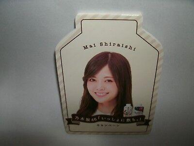 new Nogizaka46 idol Mai Shiraishi memo pad kawaii F/S japan