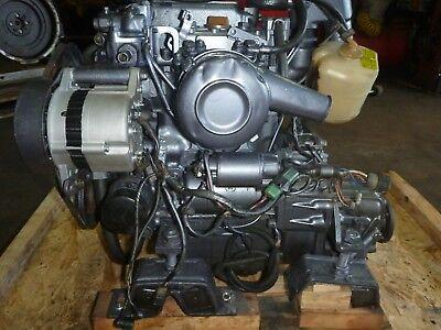 Used, Yanmar 2GM Diesel Engine 18HP with transmiss