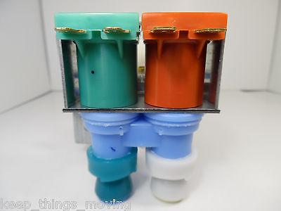 Refrigerator Whirlpool Kenmore OEM  Dual Ice Maker Water Valve 2188778 K-75384