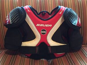Bauer Supreme Accel Shoulder Pads - Hockey