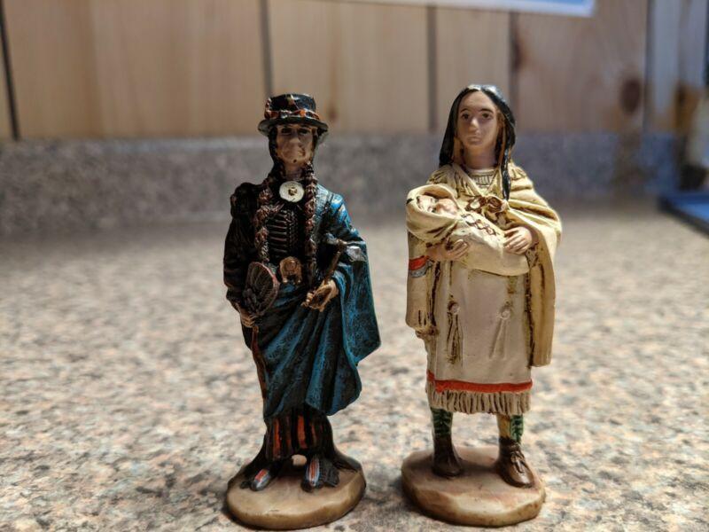 "3"" Native American Mini Figurines"