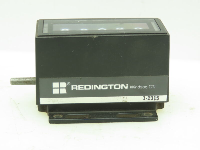 "Redington 1-2315 Rotary Counter 5-Digit Display 1/8""Shaft"