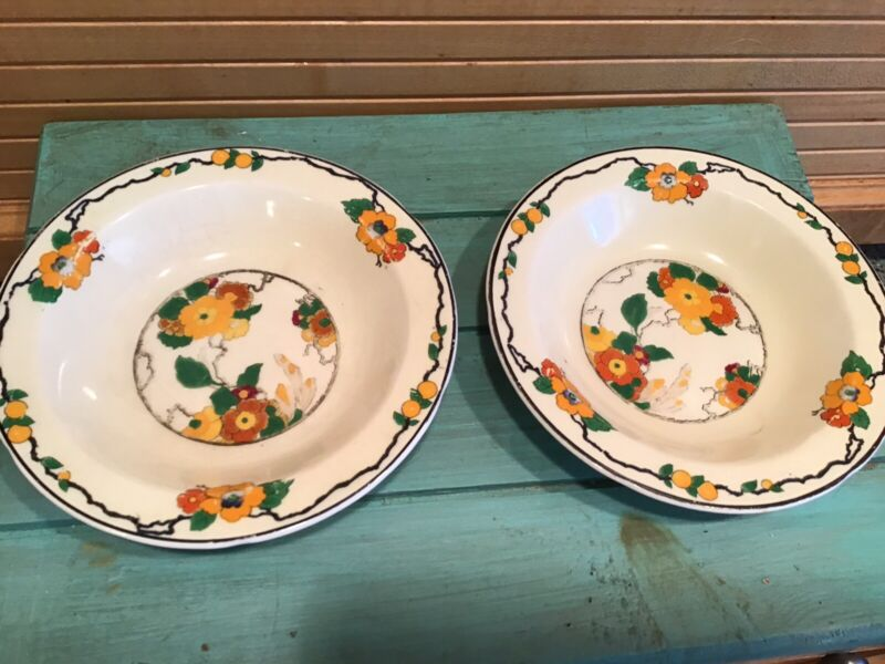 Vintage Grindley & Co Ivory England Small Fruit Bowls, 2