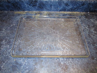 TAPPAN MICROWAVE GLASS TRAY PART# 5303091188