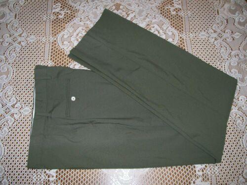 Boy Scouts of America Uniform Pants BSA Green Adult Mens size 34 Unfinished NWOT