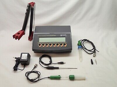 Hanna Hi 2222 Bench Top Wine Analysis Ph Meter Test Outfit