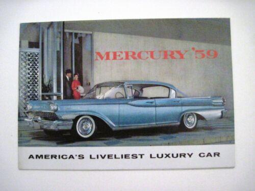 "1959 Car Brochure for ""Mercury"" ""America"
