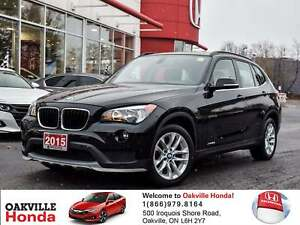 2015 BMW X1 Xdrive28i 1-Owner|Clean Carproof|Pano Roof|Heated