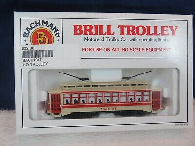 Bachmann Ho #  61047 MainStreet Brill Trolley  Pre-Owned Bachmann Brill Trolley