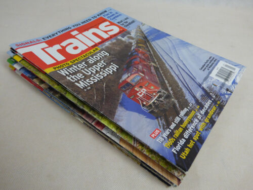Trains The Magazine of Railroading 2016  10 Issues +1 Special  RR Railroad