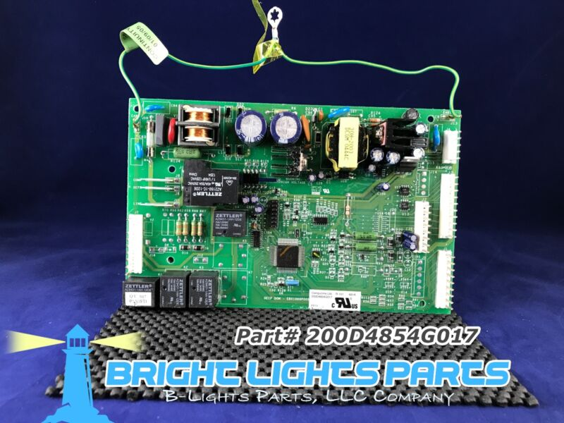 Ge Main Control Board For Ge Refrigerator 200d4854g017 / Wr55x10432 Green