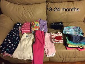 18-24 months girls clothing lot